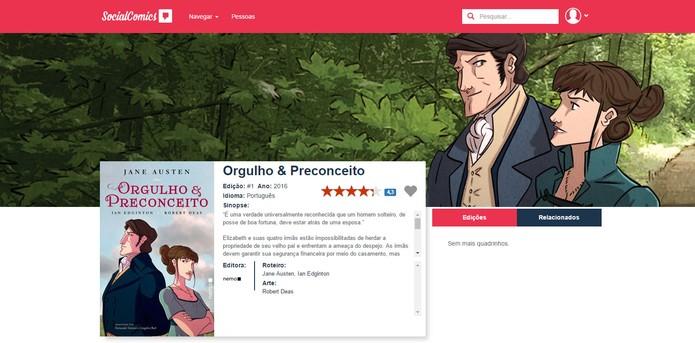 Social Comics é um streaming de quadrinhos (Foto: Reprodução/Barbara Mannara)