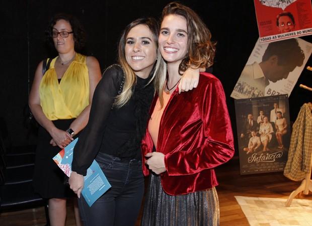 Tatá Werneck e Priscila Steinman (Foto: Thyago Andrade/Brazil News)
