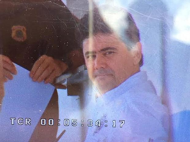 Éder Moraes foi é preso por quebrar 92 vezes regras de tornozeleira eletrônica (Foto: Cristina Mayumi/TVCA)