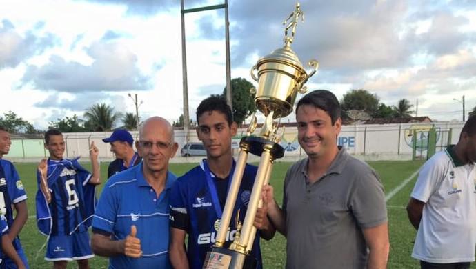 CSA campeão sub-17 (Foto: Federação Alagoana de Futebol)