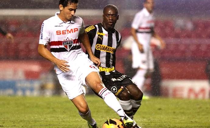 Ganso jogo São Paulo e Botafogo contra Seedorf (Foto: Rubens Chiri / saopaulofc.net)