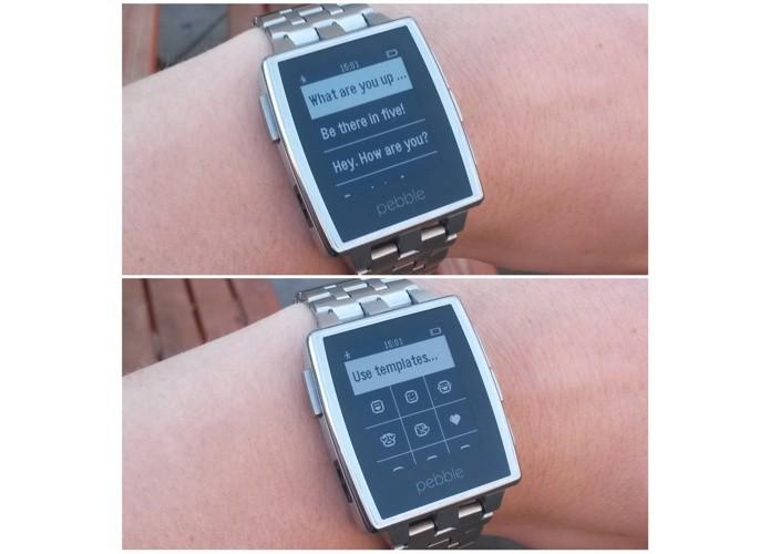 Pebble ganha resposta a mensagens e outros recursos do Android Wear (Foto: Divulgação)