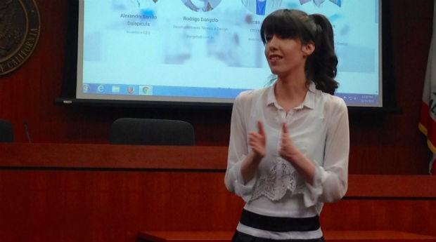 Liz Adelman, fundadora da PitchPolish (Foto: Priscila Zuini)