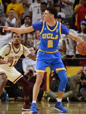 Lonzo Ball comanda o ataque de UCLA no campeonato universitário