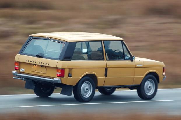 Land Rover volta a vender Range Rover clássico da década de 1970 (Foto: Divulgação)