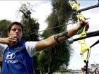 Aos 18, Marcos d'Almeida é esperança dos Jogos no tiro com arco