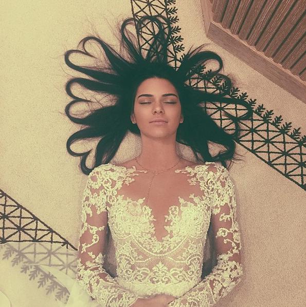 A foto mais curtida de 2015 é de Kendall Jenner: nada menos que 3,4 milhões de likes! (Foto: Instagram/Reprodução)