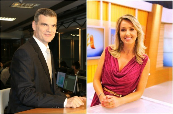 Elói Zorzetto e Carla Fachim (Foto: Foto: Montagem sobre fotos/RBS TV/Divulgação)