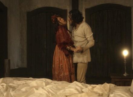 Licurgo e Germana vão para a cama