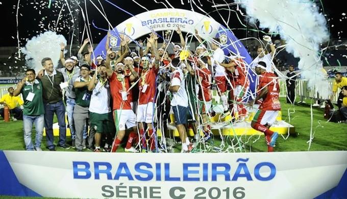 Campeão da Série C em 2016, Boa Esporte vai disputar Módulo II em 2017  (Foto: Rodrigo Villalba/ GloboEsporte.com)