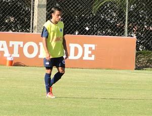 Martinuccio no treino do Cruzeiro (Foto: Marcos Antônio Astoni / Globoesporte.com)