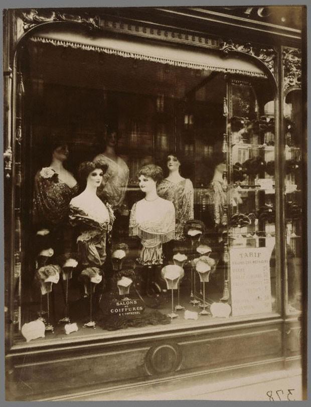 'Boulevard de Strasbourg', de 1912. Outra famosa fotografia de Eugène Atget (Foto: Cortesia/Getty's Open Content Program)