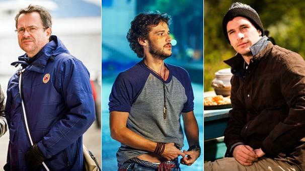 Leonardo Medeiros, Jayme Matarazzo e Michel Noher fazem parte do elenco masculino de Sete Vidas (Foto: Globo)