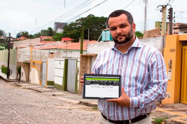 Ricardo Valentim, coordenador do Observatório da Dengue, calcula que sistema desenvolvido pode diminuir casos da doença e gerar economia de R$ 2,4 milhões por ano ao município (Foto: Anastácia Vaz/Agecom/UFRN)