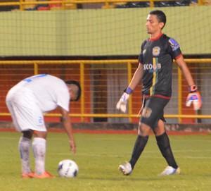 Goleiro Cleverson do Galvez  - Campeonato do Povo e da Imprensa (Foto: Duaine Rodrigues)
