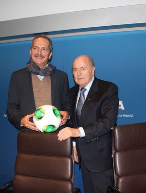 joseph Blatter aldo rabello copa do mundo 2014 (Foto: Clicia Oliveira)