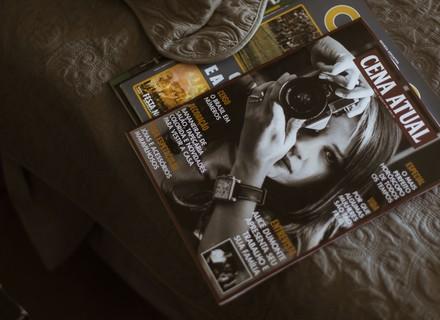 Alice é capa de revista no Brasil
