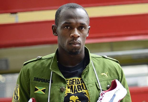 O corredor jamaicano Usain Bolt tem contrato com a Puma (Foto: Divulgação)