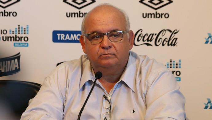 Presidente Romildo Bolzan Júnior Grêmio (Foto: Eduardo Moura/GloboEsporte.com)