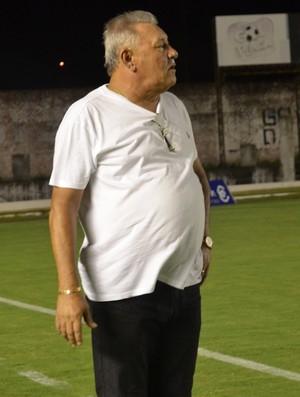 Freitas Nacimento, técnico do Campinense (Foto: Hévilla Wanderley / GloboEsporte.com/pb)