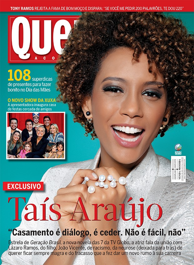 taís araújo (Foto: revista quem)