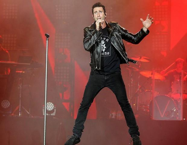 Maroon 5 (Foto: Marcello Sá Barretto/ AgNews)