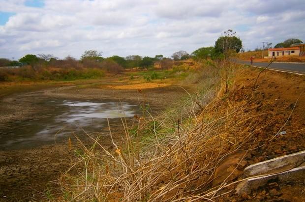 Leitor fotografa seca em Elesbão Veloso, no Piauí. (Foto: Cicero Loiola/VC no G1)