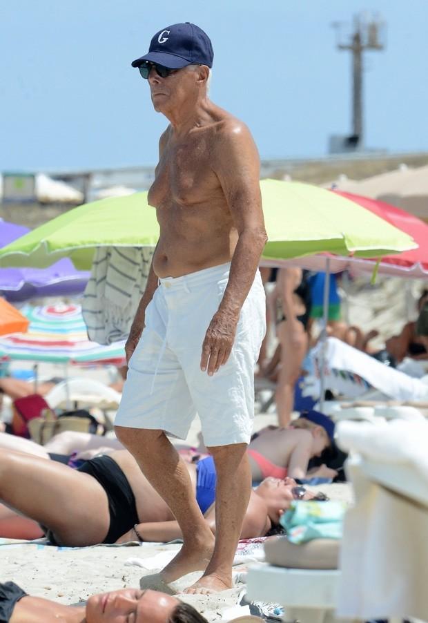 Giorgio Armani (Foto: AKM-GSI)