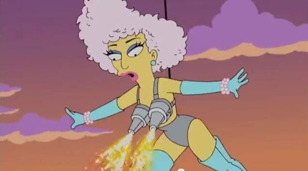 Série também acertou sobre a apresentação de Lady Gaga no Super Bowl (Foto: Reprodução)