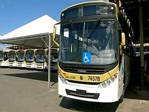 Ônibus novos começam a circular no DF a partir desta sexta-feira (28) (Foto: Reprodução/TV Globo)