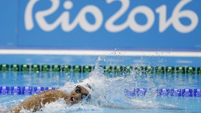 Luiz Altamir natação men's 400m freestyle (Foto: AP)