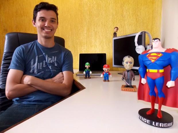 'My Geek Day' é voltado a produtos para o público geek/nerd (Foto: Arquivo Pessoal)