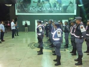 operação independência; polícia militar, amapá (Foto: Sejusp)