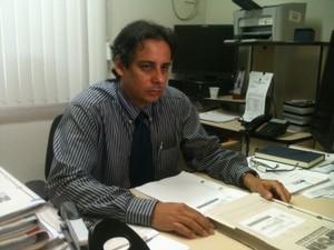Alexandre Cunha Lima é um dos promotores envolvidos na investigação do MP/RN (Foto: Leonardo Melo)