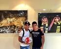 Ex-Bota anota hat-trick pela primeira vez em goleada nos Emirados Árabes