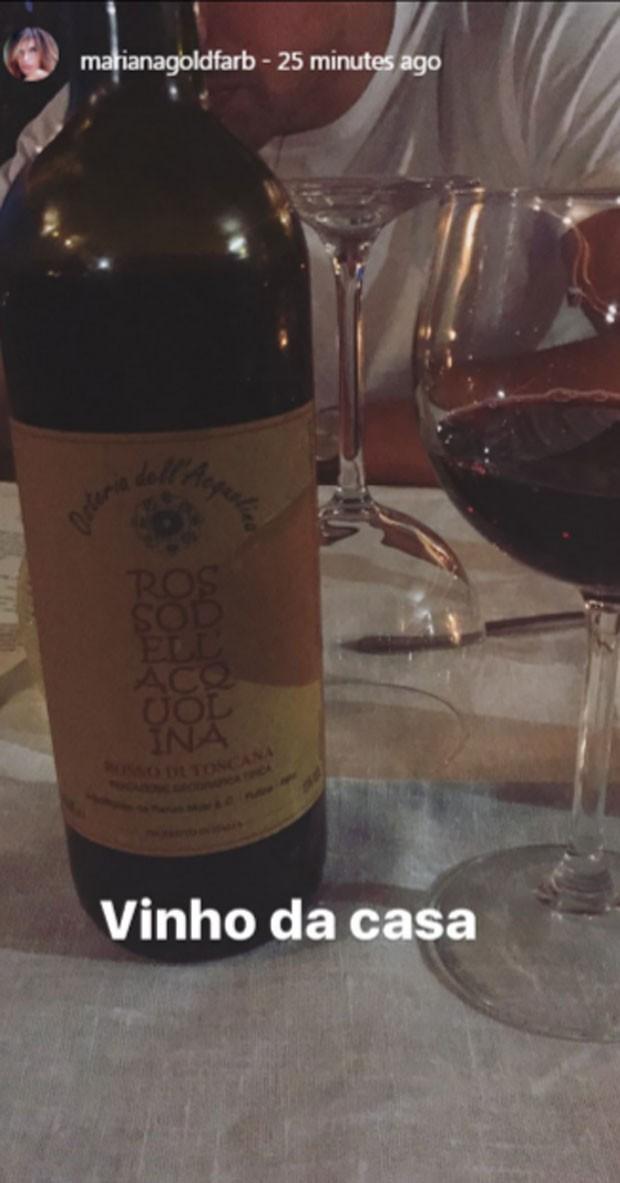 Vinho da casa (Foto: Reprodução)