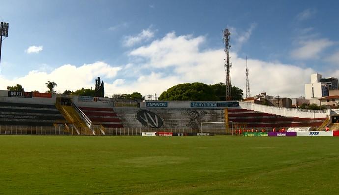 Barão da Serra Negra, estádio XV de Piracicaba (Foto: Carlos Velardi/ EPTV)