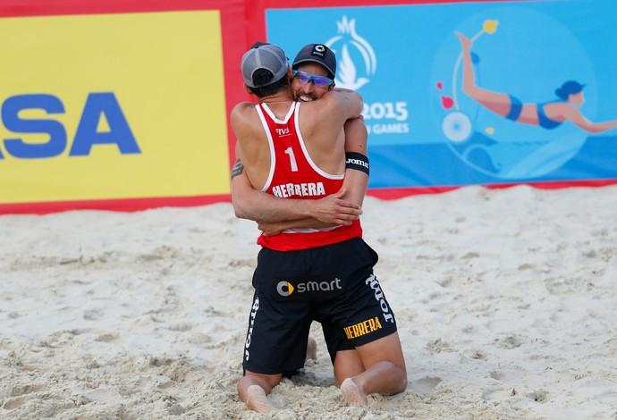 Herrera e Gavira, Vôlei de Praia (Foto: Divulgação FIVB)
