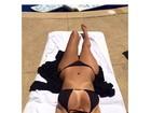 Veja qual foto de Kim Kardashian de biquíni é a preferida de internautas