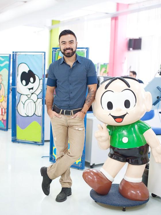 Mauro Sousa foi escolhido pelo pari para comandar parte dos negócios da família (Foto: Divulgação)