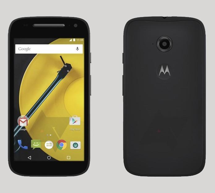 Moto E aparece em imagem vazada na rede com novos recursos (Foto: Reprodução/AndroidPolice)