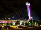 Complexo da Ponte Estaiada será fechado no Natal e fim de ano
