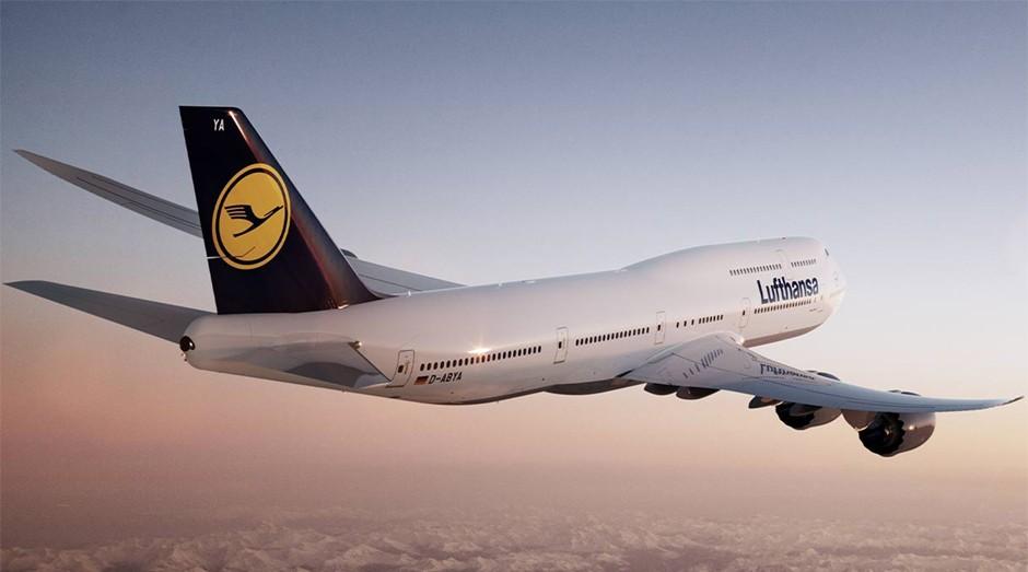 Avião da Lufthansa: empresa teve de mudar a tripulação (Foto: Reprodução )