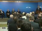 Michel Temer se reúne com empresários no Palácio do Planalto