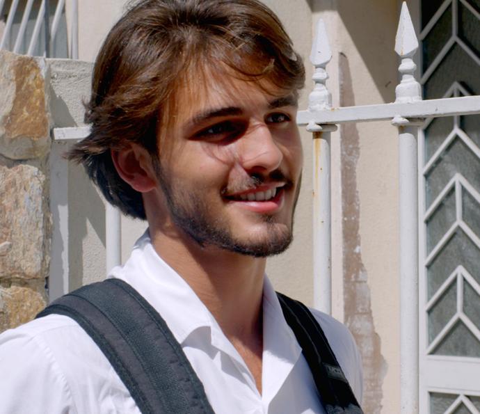 Roger (Foto: TV Globo)