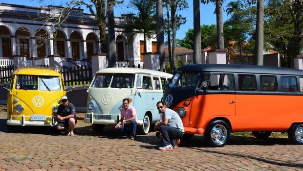 Confira fotos de 'Kombi lovers' em bairro histórico de Piracicaba