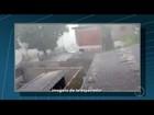 Friburgo tem forte chuva de granizo e barulho nos telhados assusta; vídeo