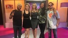 Mistura faz quiz e brinca com integrantes da banda Chimarruts (Divulgação/RBS TV)