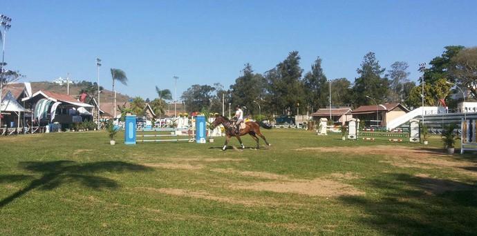 Campeonato Hipismo Parque Exposições Barbacena (Foto: Vagner Tolendato)