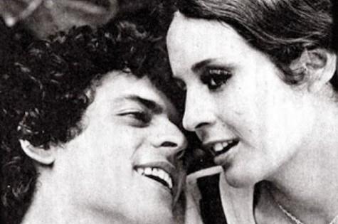 Suzana Gonçalves e Marcos Paulo em 'O primeiro amor' (Foto: Reprodução da internet)
